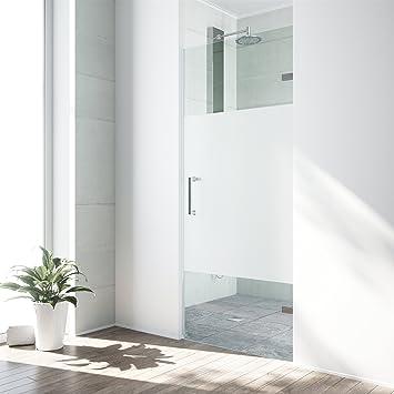 Vigo Soho 28 Bis 28 5 In Verstellbar Rahmenlose Dusche Tur Mit
