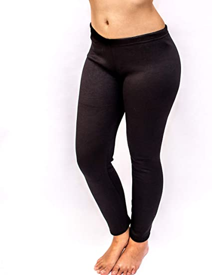 f3b031cf21f Just Cozy Women s Fleece Lined Black Leggings at Amazon Women s Clothing  store
