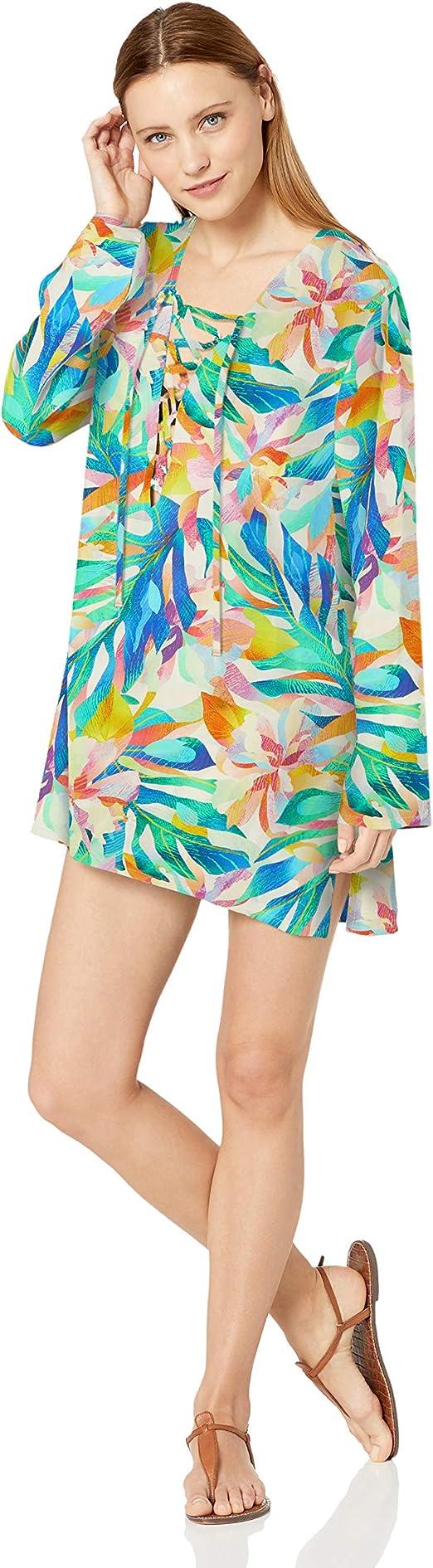 Valia Rainforest Tunic Women/'s Clothing