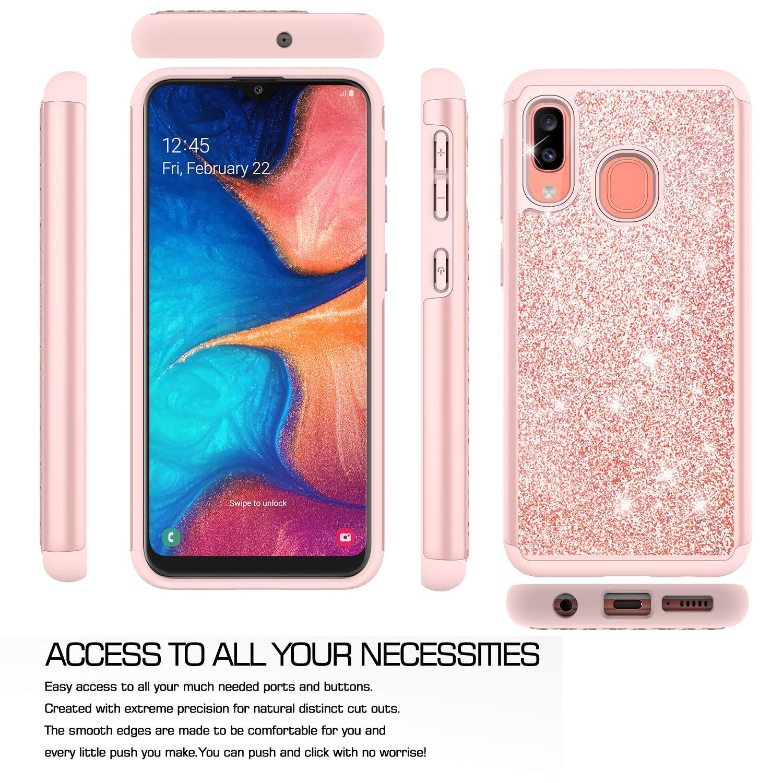 Amazon.com: Funda para Galaxy A10e con protector de pantalla ...