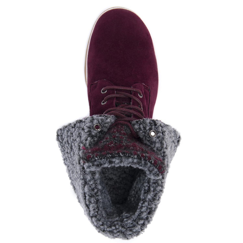 MUK LUKS Women's Megan Fashion Boot B071WXD7DS 10 B(M) US|Chianti