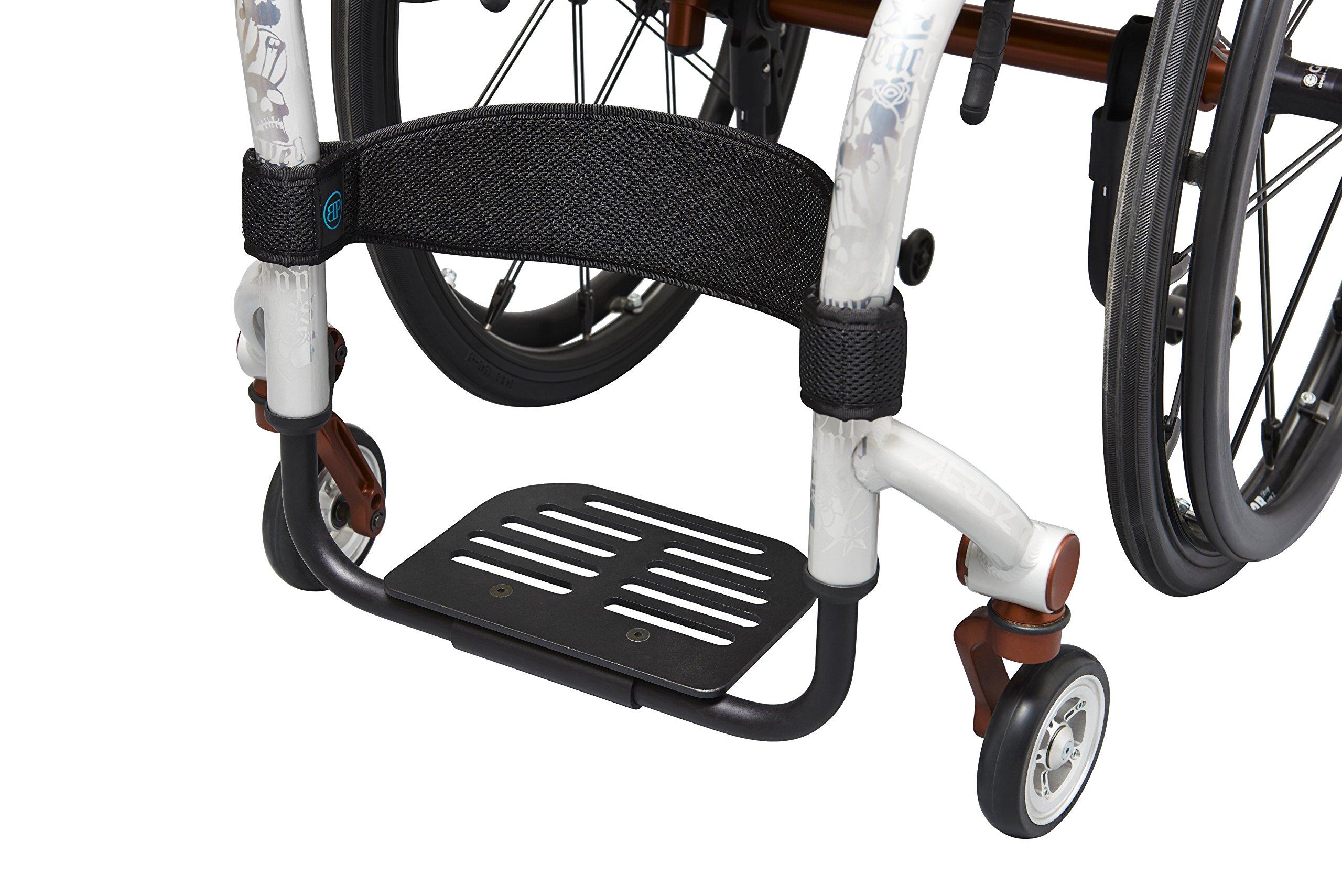 Bodypoint Wheelchair Calf Strap, Black, Medium