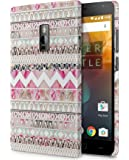 Case U OnePlus 2 Case/Back Cover + Free Tempered Glass (Aztec Girl)