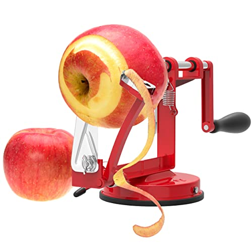 Vremi Apple Peeler Corer Slicer Machine With Vacuum Suction Base