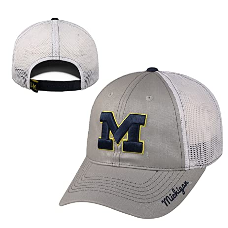 sale retailer 0cb4a 2f51d ... czech michigan wolverines official ncaa adjustable womens glmor hat cap  by top of the world 797533 ...