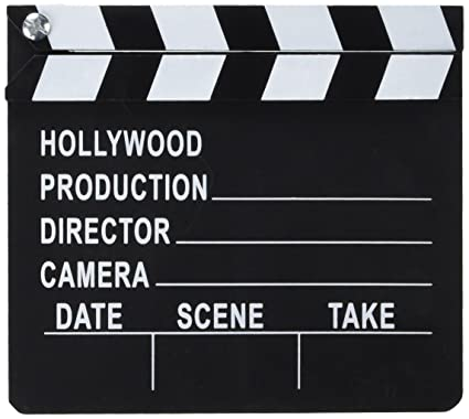 Amazoncom Hollywood Directors Film Movie Slateboard Clapper Toys