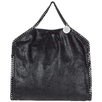f32d3e3e5d2 Stella McCartney Falabella Fold Over sac à main femme nero  Amazon ...