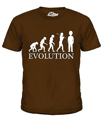 CandyMix Garde Königliche Wache Evolution Des Menschen Unisex Jungen  Mädchen T Shirt, Größe 2 Jahre