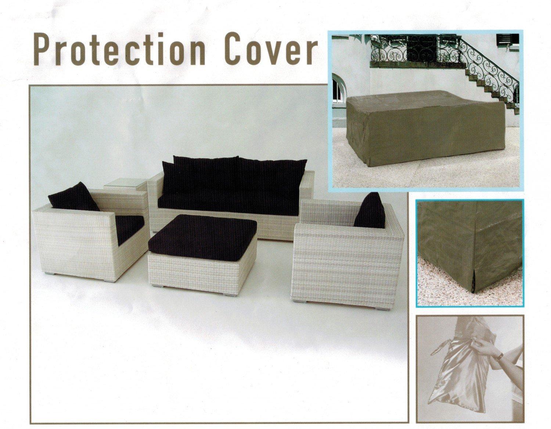 Amazon.de: BEST 61000023 Polyester Schutzhülle für Sitzgruppen und ...