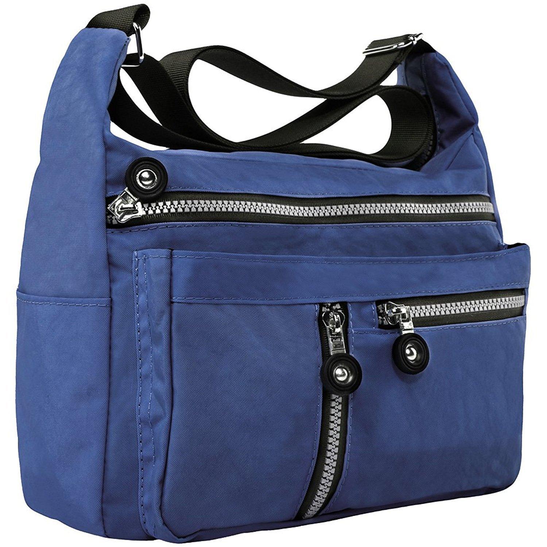 Dapengzhu Womens Nylon Shoulder Bags Crossbody Messenger Bags Casual Travel Handbag Hot sell