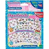 Aquabeads-79268 Template Sheets Set, (Epoch 79268)
