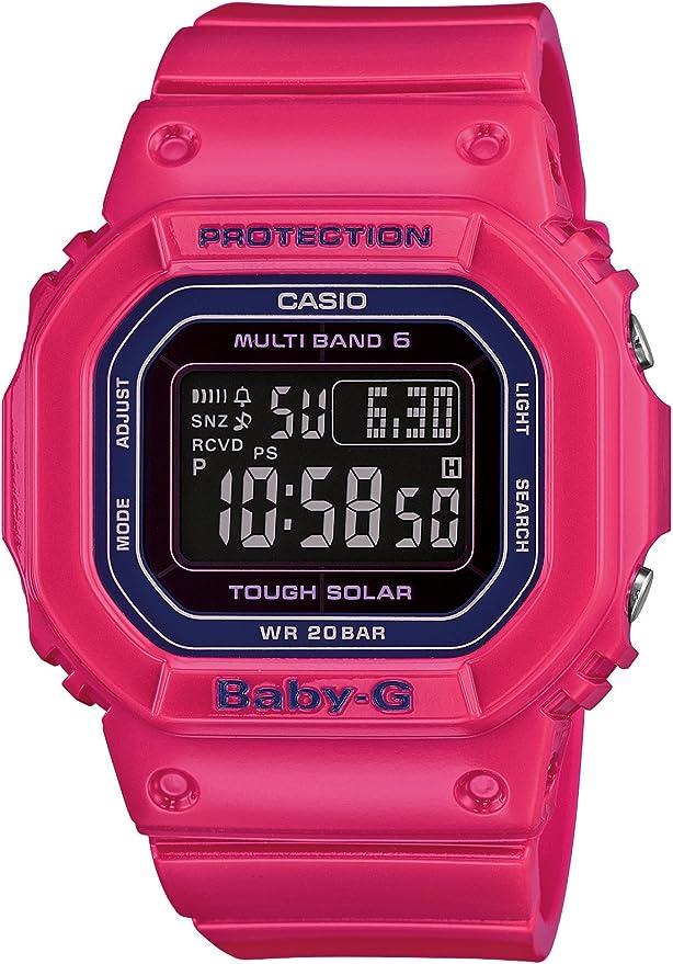[カシオ] 腕時計 ベビージー 世界6局対応電波ソーラー Tripper BGD-5000-4JF ピンク