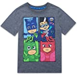 PJMASKS PJ Masks Short Sleeve T-Shirt Catboy, Owlette, Gekko Short Sleeve T