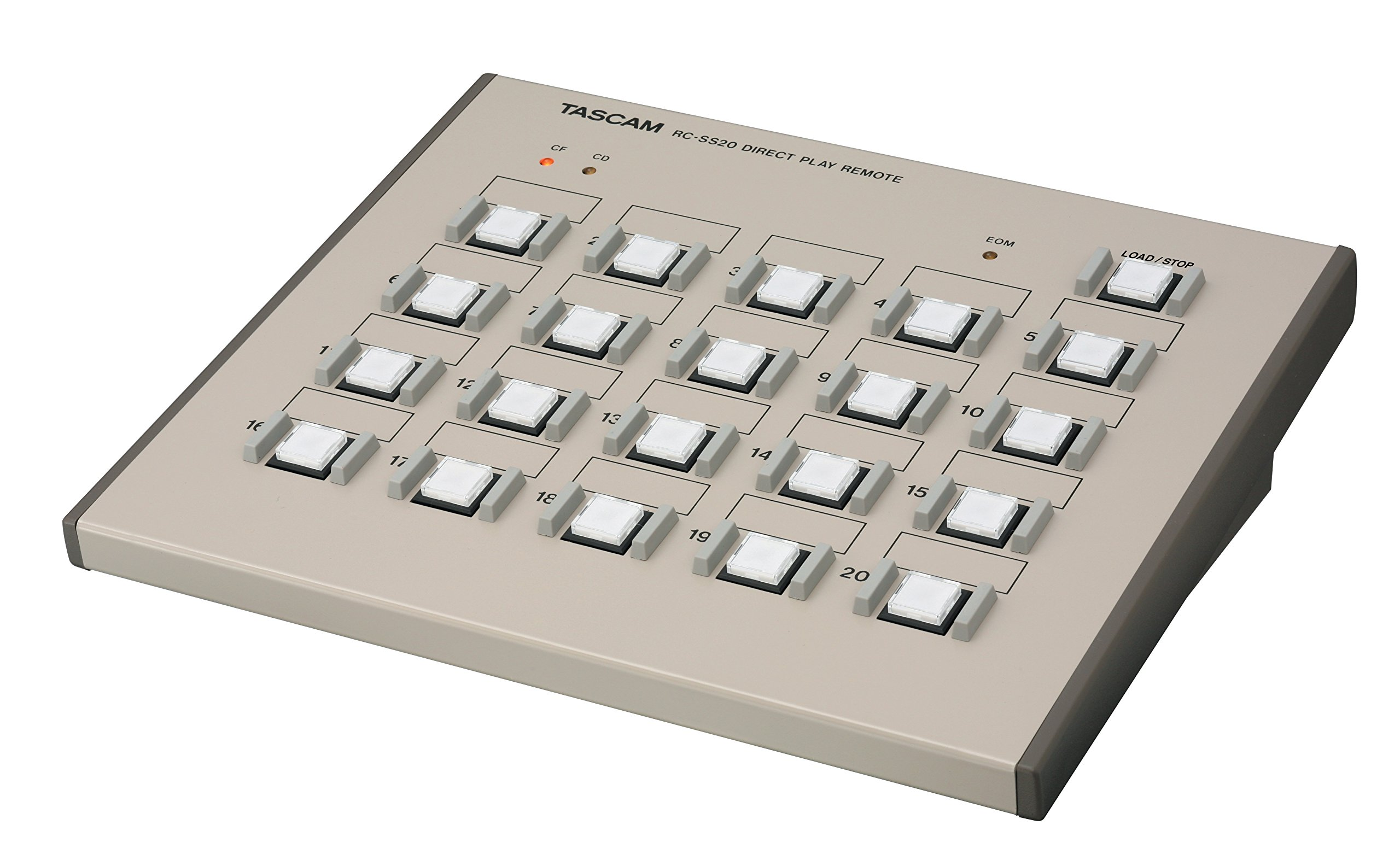 Tascam RC-SS20 Direct Play Remote for Solid State Recorders by Tascam (Image #4)