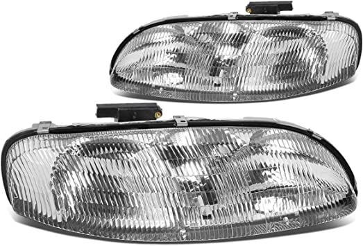 Amazon Com Chevy Lumina Monte Carlo Replacement Headlight Assembly 1 Pair Automotive