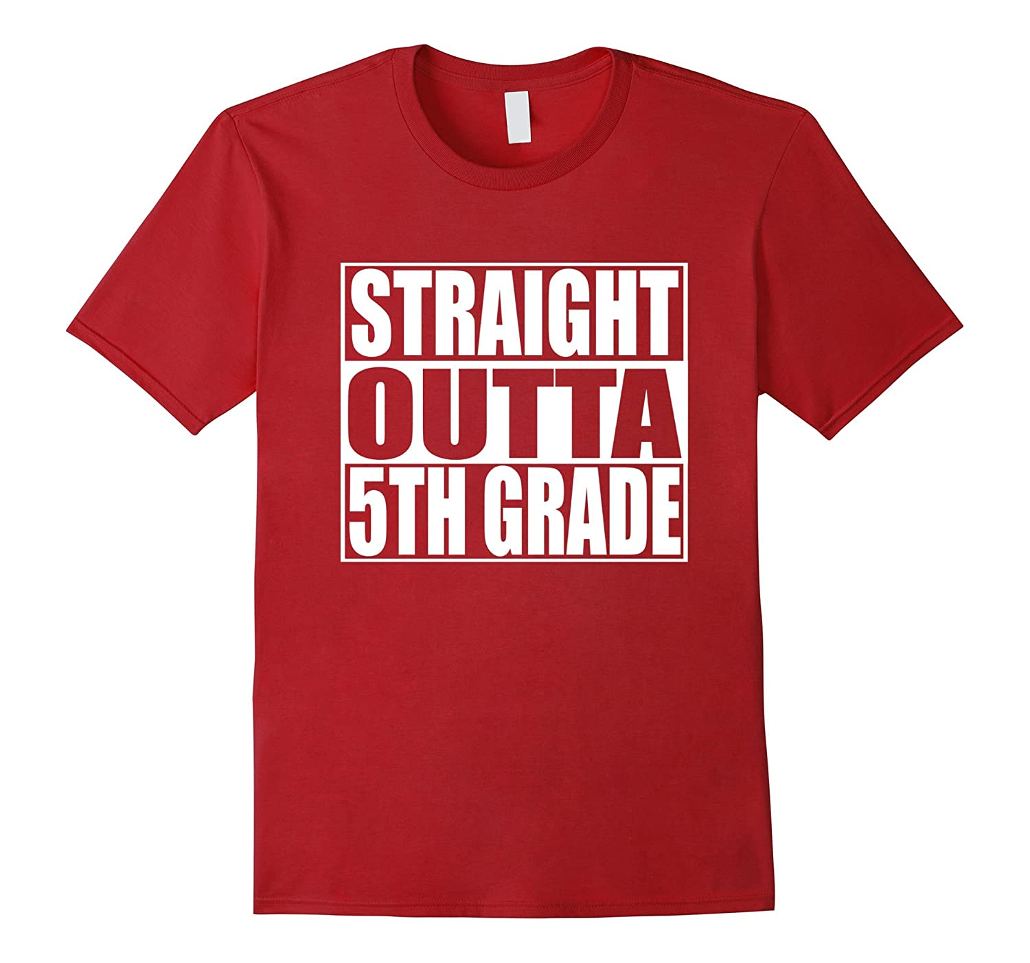 Funny FIfth Grade Shirt – STRAIGHT OUTTA 5TH GRADE T-Shirt