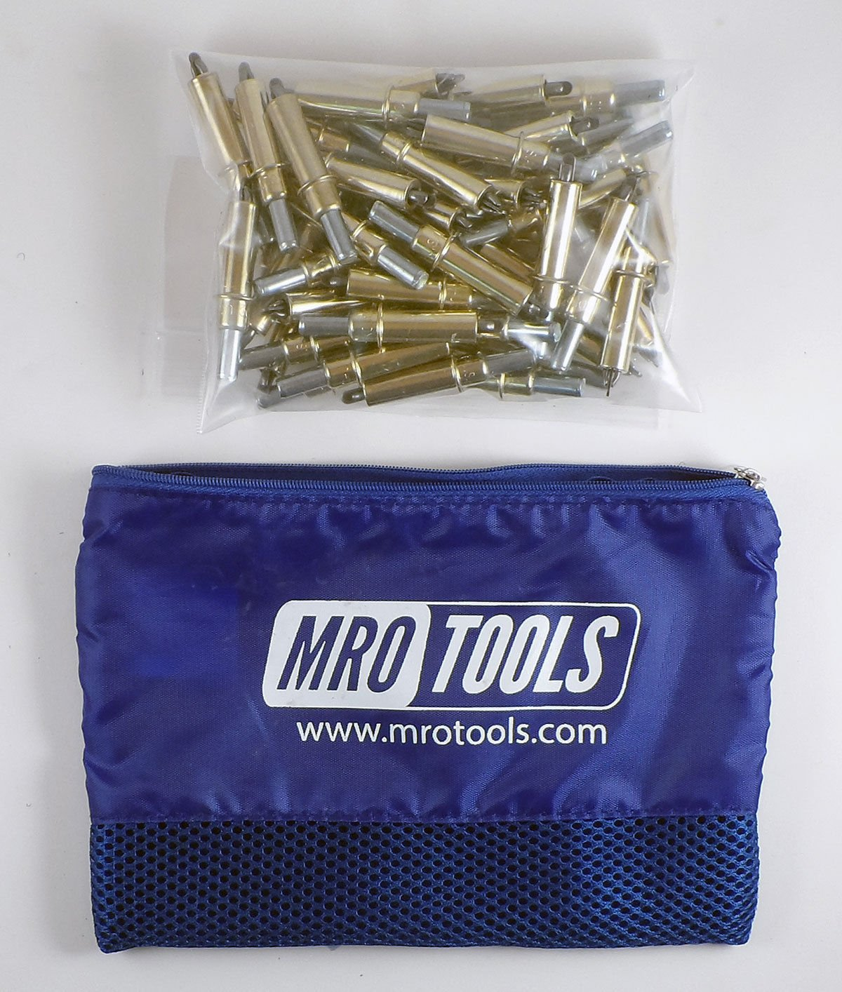 50 3/16 Cleco Sheet Metal Fasteners w/ Mesh Carry Bag (K2S50-3/16) by MRO Tools Cleco Fasteners
