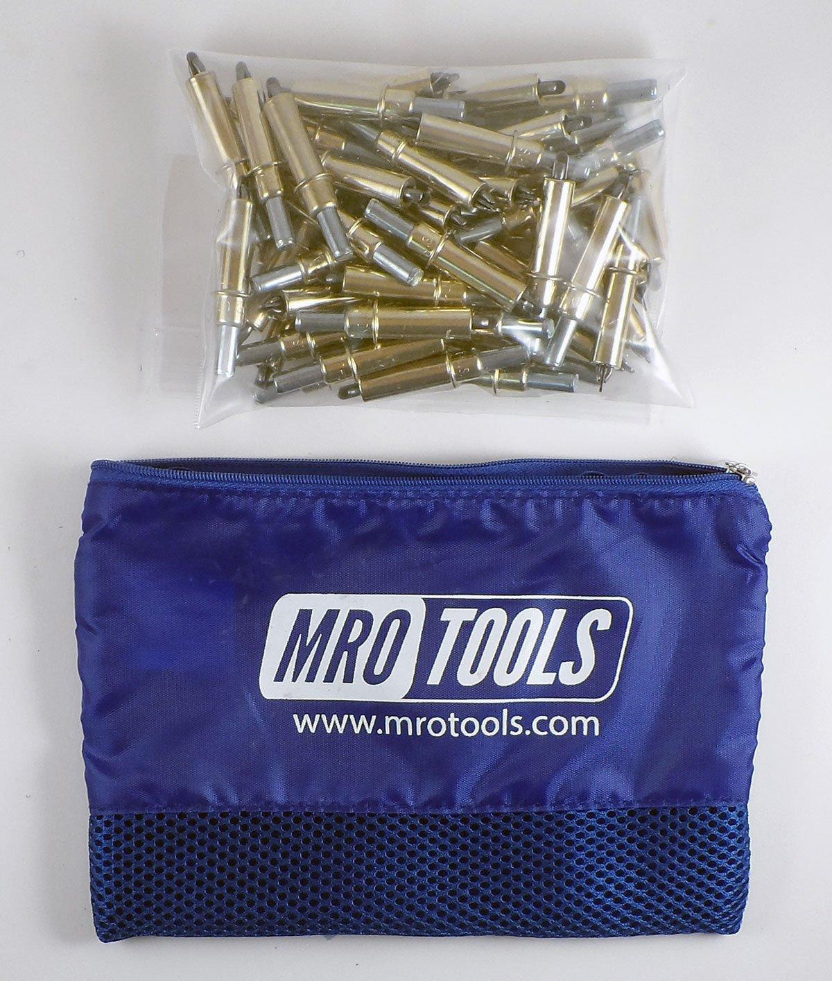 50 3/16 Cleco Sheet Metal Fasteners w/ Mesh Carry Bag (K2S50-3/16)