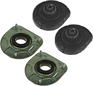 Strutstore 4PCS Front Strut Mount and Spring Seat Bushing For Volvo S60 S80 V70 XC90