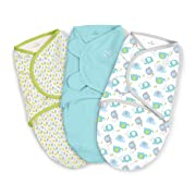 SwaddleMe Original Swaddle 3-PK, Elley Fun, Small