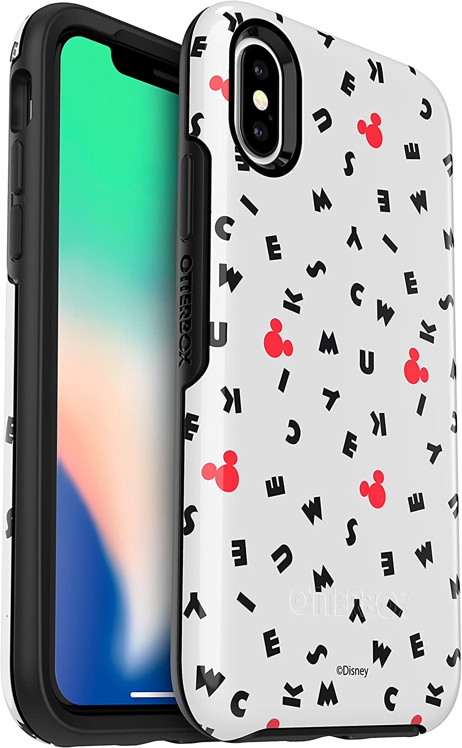 OtterBox SYMMETRY SERIES Disney Classics Case for iPhone Xs & iPhone X MICKEY SCRAMBLE