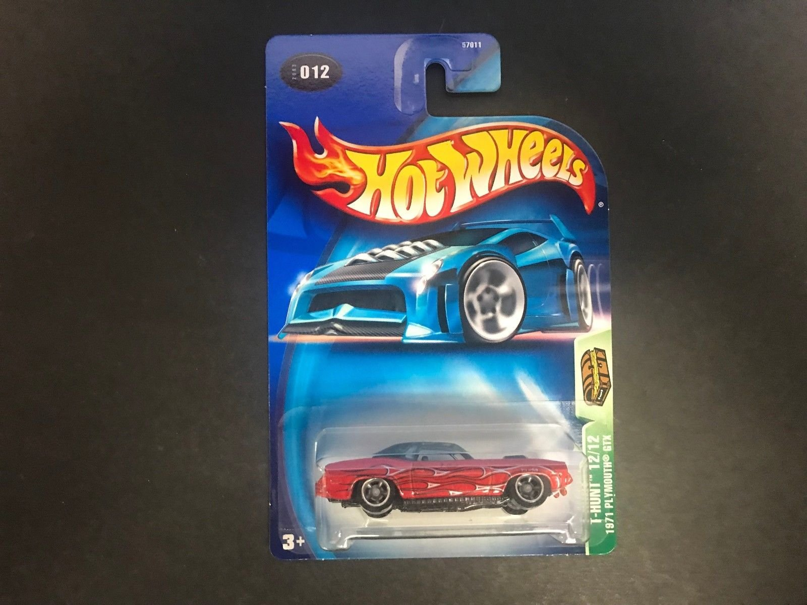 1971 PLYMOUTH GTX Hot Wheels 2003 TREASURE HUNT 12 of 12