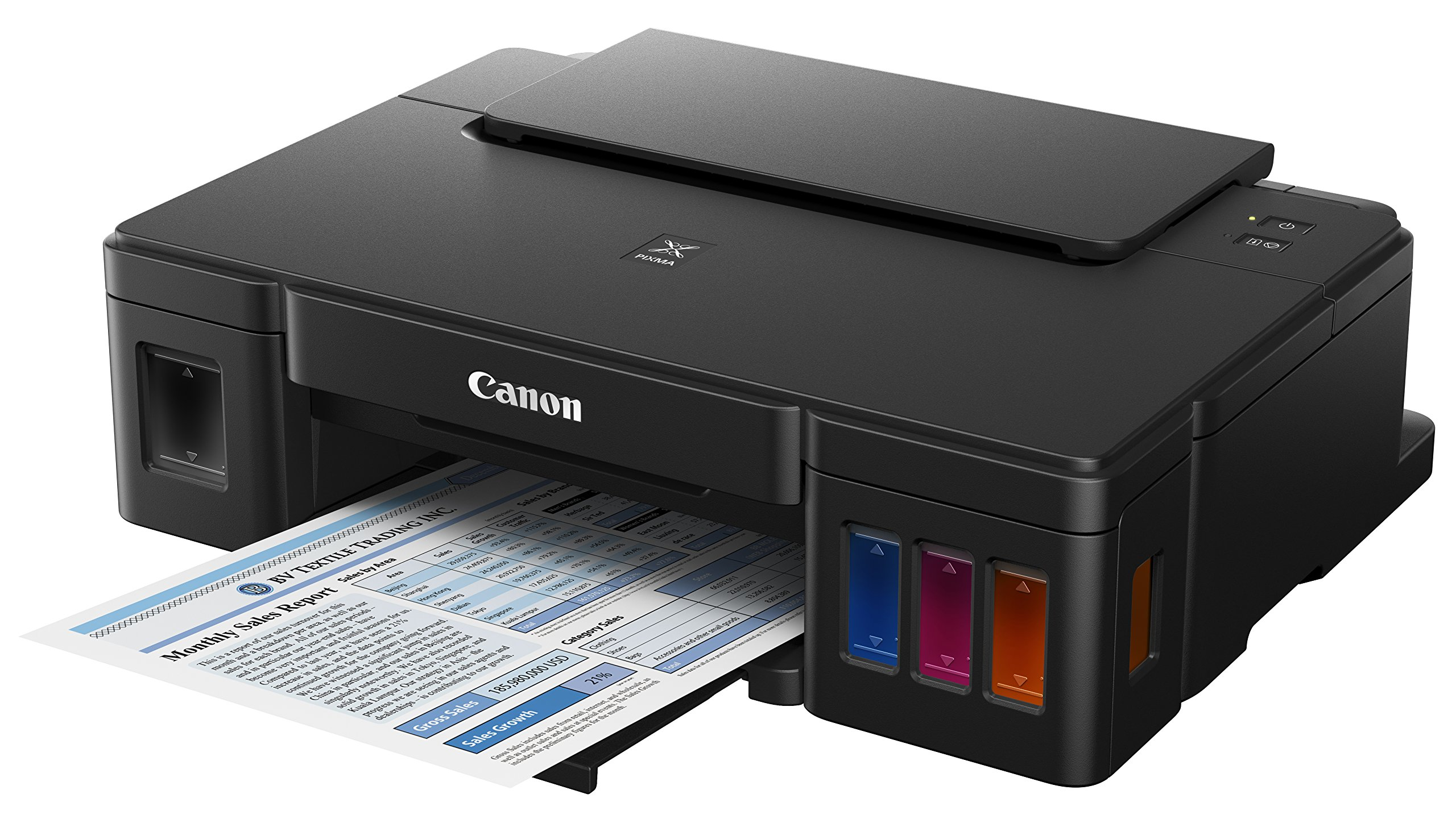 Canon PIXMA G1200 Megatank Single Function Printer, Print Only, Black by Canon (Image #2)
