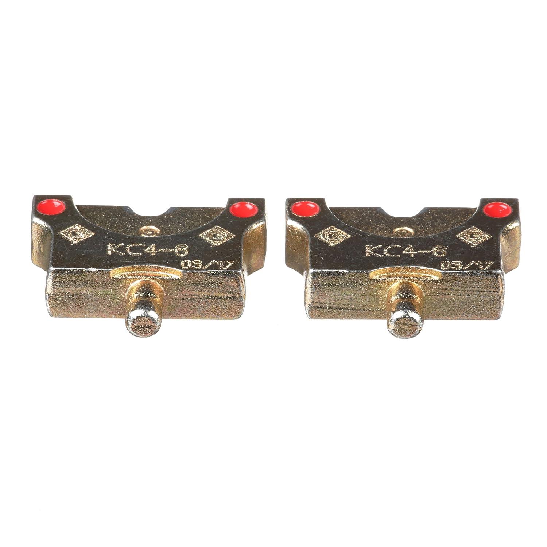 パンドウイット KCシリーズ圧縮ダイ, 銅製圧縮端子及びスプライス用, 6角形, 適用電線サイズ AWG8 KC4-8   B074J871G7