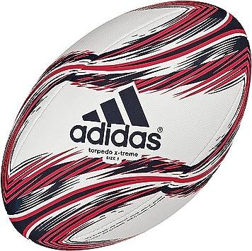 adidas Torpedo X-Treme Balón de Rugby, White/Collegiate Navy ...