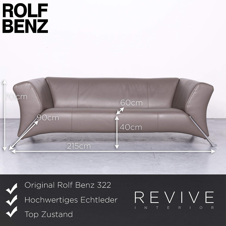 Verführerisch Sofa Benz Dekoration Von Conceptreview: Rolf 322 Designer Leder Braun Echtleder