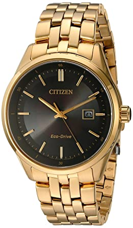 5cef1bb58 Amazon.com: Citizen Men's Gold-Toned Stainless Steel Watch: Watches