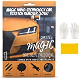 1PC with Gloves, Nano Sparkle Cloth for Car Scratches, Nano Magic Cloth Car Scratch Remover for Deep Scratches, Paint…