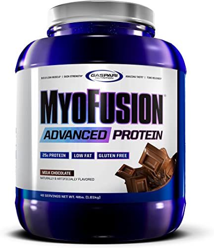 Gaspari Nutrition Myofusion Advanced Protein, Milk Chocolate