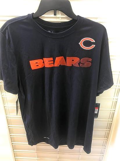 3c58ddaa Amazon.com : Nike Chicago Bears DRI FIT Shirt Large : Clothing
