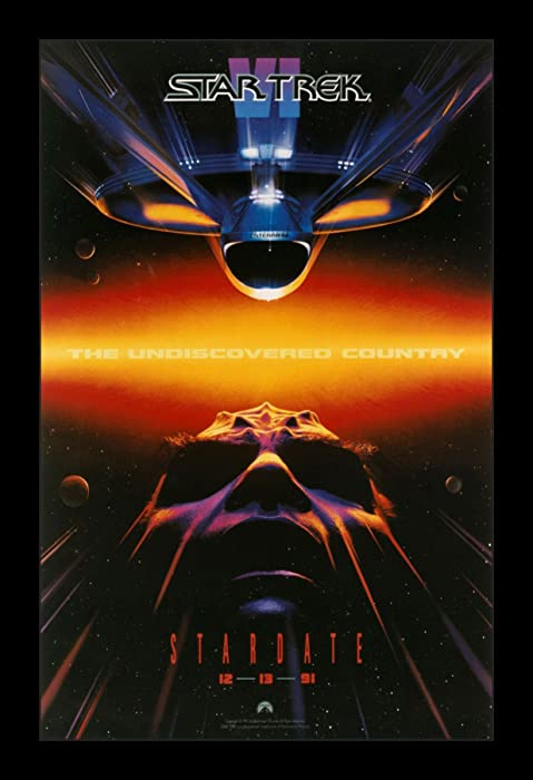 Top 10 Star Trek The Undiscovered Country Movie Poster