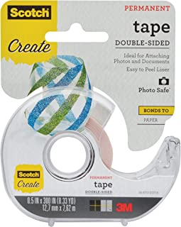 product image for Scotch Tape Double Sided, 1/2 in x 300 in (002-CFT)
