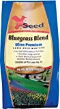 X-Seed Ultra Premium Bluegrass Blend Lawn Seed Mixture, 3-Pound