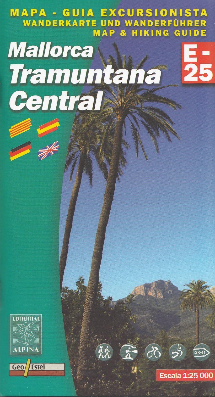 Mallorca Tramuntana - Centro topográfico 1:25.000 senderismo ...
