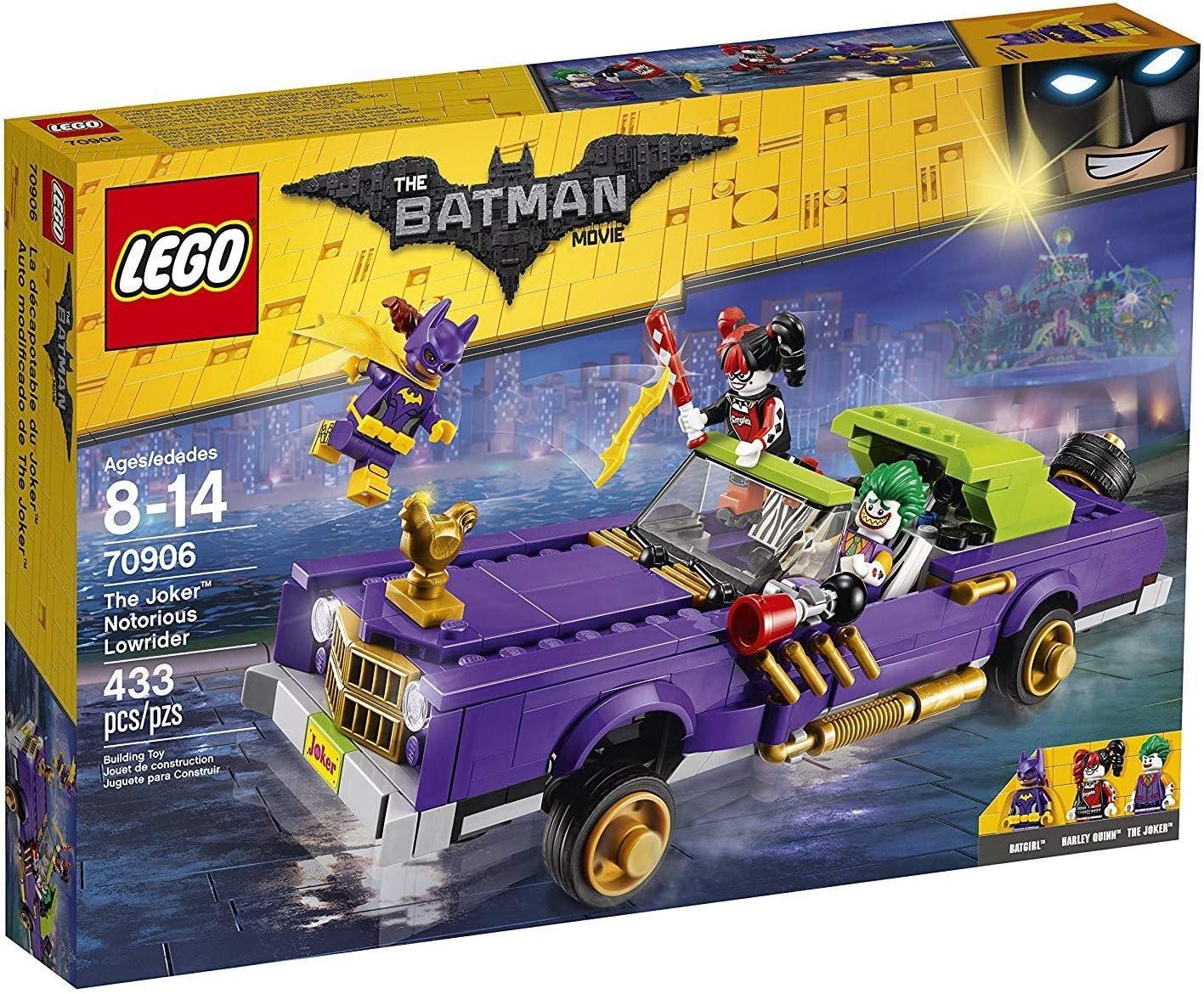 LEGO The LEGO Batman Movie 70906 The Joker Notorious Lowrider NEW