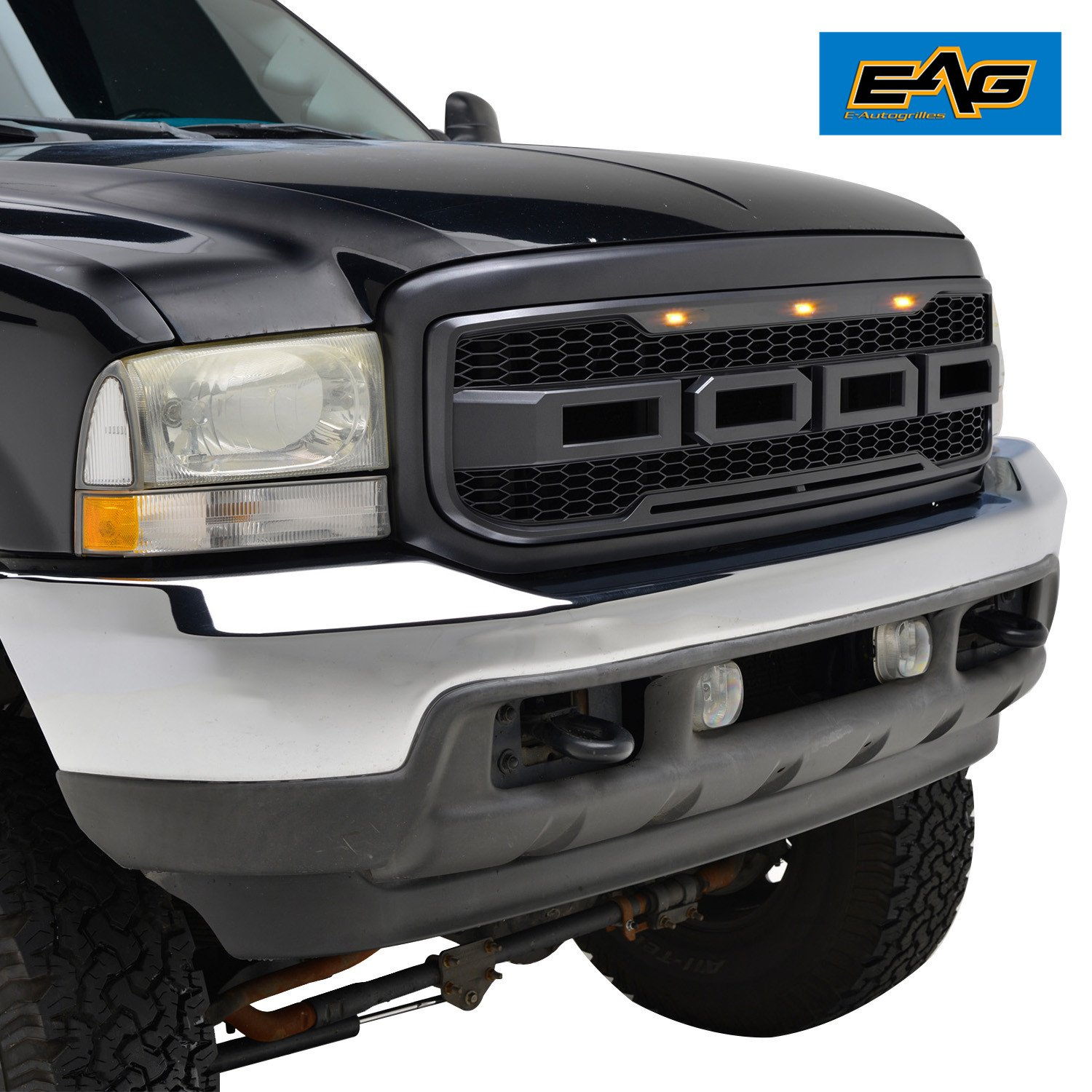 85off Eag Replacement Abs Grille For 99 04 Ford Super Duty F 250 2004 Led Lighting