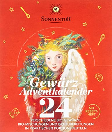 Gewürz Weihnachtskalender.Sonnentor Gewürz Adventskalender 1er Pack 1 X 116 G Bio