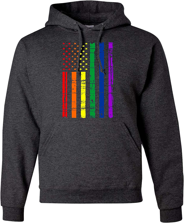 LMKJNGFD Maryland American USA Flag Pride Boys Adult Full Zip Hoodies  Sweatshirts Active Outwear Sweatshirts Fashion Hoodies & Sweatshirts Men
