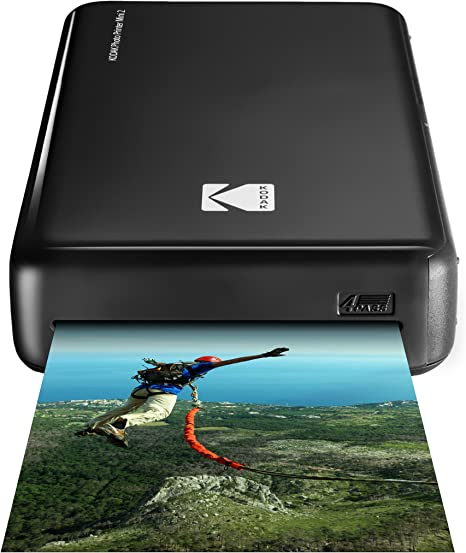 Kodak HD Wireless Portable Mobile Instant Photo Printer, Print Social Media Photos, Premium Quality Full Color Prints. Compatible w/iOS and Android ...