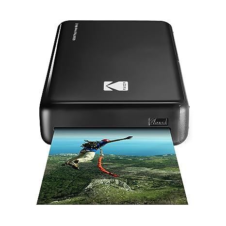 Kodak - Impresora fotográfica mini 2 HD, instantánea, inalámbrica y portátil, con tecnología