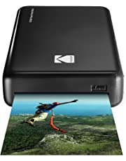 Kodak Wireless Portable Mobile Instant Photo Printer, Print Social Media Photos, Premium Quality Full Color Prints - Compatible w/iOS & Android Devices (Black)