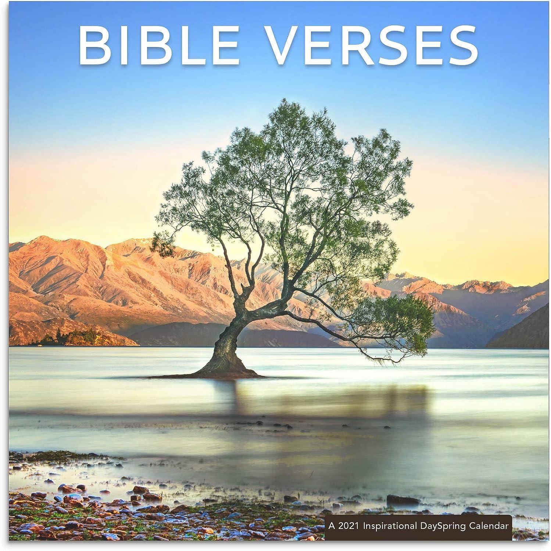 DaySpring Bible Verses - 2021 Inspirational Wall Calendar