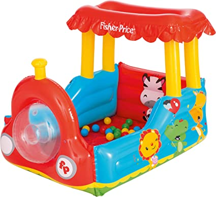 Amazon.com: Bestway Fisher-Price - Bola inflable para tren ...