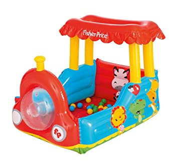 Amazon.com: Bestway Fisher-Price Childrens Inflatable Train ...