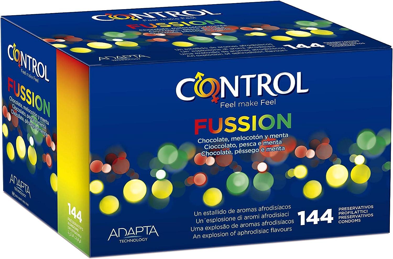 Control Fussion Preservativos - Caja de condones con 144 unidades ...