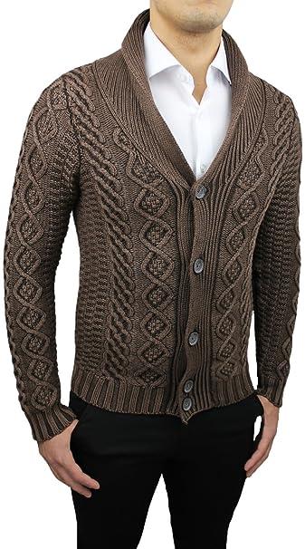 Maglione Cardigan  Uomo Pullover Casual MODA Taglia  L XL XXL